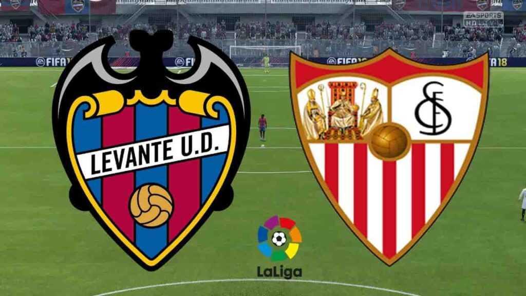 ver en directo el Levante vs. Sevilla de LaLiga