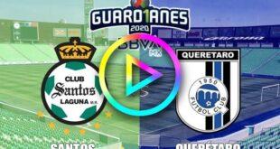 Santos vs Querétaro EN VIVO GRATIS ONLINE