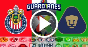 LIGA MEXICANA Chivas vs Pumas UNAM: Cómo ver en directo el duelo por la Liga MX