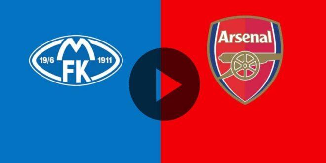 AHORA EN VIVO - EN VIVO – Molde vs Arsenal online por la cuarta jornada de la UEFA Europa League
